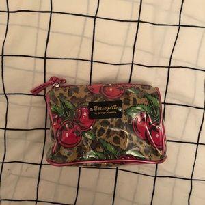 Betsey Johnson Mini Cosmetic Case